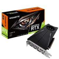 GIGABYTE GeForce RTX 2080 Ti TURBO 11G / 1545MHz / 11GB GDDR6 / 352-bit / USB-C + HDMI + 3x DP