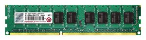 Transcend 8GB / 1600MHz / DDR3L / ECC Unbuffered / CL11 / ECC-DIMM / 2Rx8 / 1.35V