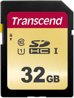 Transcend 500S 32GB / SDHC / Class 10 / UHS-I U1 (Ultimate) / MLC / R:95 MBps / W:60 MBps