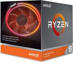 AMD RYZEN 9 3900X @ 3.8GHz / Turbo 4.6GHz / 12C24T / L1 512kB L2 6MB L3 64MB / AM4 / Zen 2 / 105W / Wraith