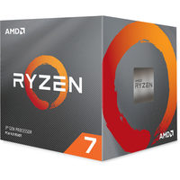 AMD RYZEN 7 3700X @ 3.6GHz / Turbo 4.4GHz / 8C16T / L1 512kB L2 4MB L3 32MB / AM4 / Zen 2 / 65W / Wraith