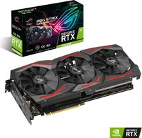 ASUS ROG STRIX GeForce RTX 2060S O8G GAMING / 1470-1860MHz / 6GB GDDR6 / 192-bit / 2x HDMI+2x DP+ USB-C / (6+8)