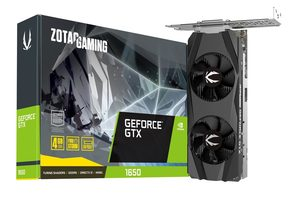 ZOTAC Gaming GTX1650 LP / 1485-1665 MHz / 4GB GDDR5 8GHz / 128-bit / 1x HDMI & 1x DP & 1x DVI / 75W