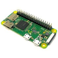 Raspberry PI Zero WH / Broadcom BCM2835 ARM Cortex-A53 – 1.0GHz / 512 GB / GPIO header / mini HDMI / Wi-Fi