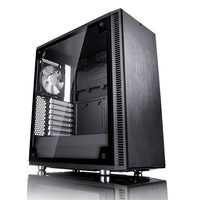 Fractal Define C Tempered Glass / ATX / 2x 120mm / 2xUSB3.0 / 2xJack / průhledná bočnice