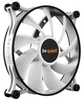 be quiet! Shadow Wings 2 140mm PWM bílá / 140mm / Rifle Bearing / 14.9dB @ 900RPM / 49.8CFM / 4-pin PWM