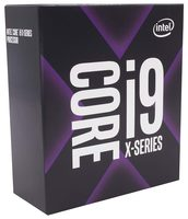 Intel Core i9-10940X @ 3.3GHz / TB 4.8GHz / 14C28T / 896kB 14MB 19.25MB / 2066 / Cascade Lake / 165W