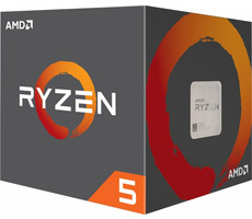 AMD RYZEN 5 1600 @ 3.2GHz / Turbo 3.6GHz / 6C12T / 576kB L1 3MB L2 16MB L3 / AM4 / Zen-Summit Ridge / 65W