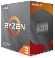 AMD RYZEN 3 3100 @ 3.6GHz / Turbo 3.9GHz / 4C8T / 256kB L1 2MB L2 16MB L3 / AM4 / Zen2 - Matisse / 65W