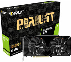 PALIT GeForce GTX 1660 Super GamingPro / 1530-1785 MHz / 6GB GDDR6 14GHz / 192-bit / HDMI + DP + DVI-D / 125W (8)