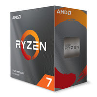 AMD RYZEN 7 3800XT @ 3.9GHz / Turbo 4.7GHz / 8C16T / L1 512kB L2 4MB L3 32MB / AM4 / Zen 2 / 105W