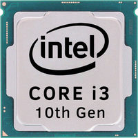 Intel Core i3-10100 @ 3.6GHz - TRAY / TB 4.3GHz / 4C8T / 6MB / UHD Graphics 630 / 1200 / Comet Lake / 65W