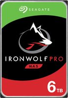 "Seagate IronWolf Pro 6TB / HDD / 3.5"" SATA 6Gbs / 7 200 rpm / 256MB cache / 5y"