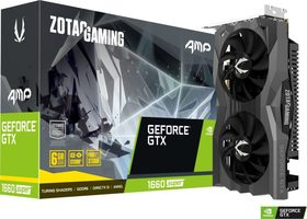 ZOTAC GAMING GTX 1660 SUPER AMP / 1530-1845 MHz / 6GB GDDR6 14GHz / 192-bit / HDMI + DP / 125W (8)