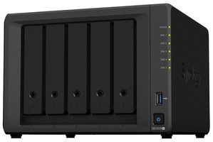 Synology DiskStation DS1019+ & EW201 / 5x SATA / Intel QC @1.5GHz / 8GB RAM / 2x USB 3.0 / 2x eSATA / 2x GLAN