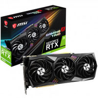 MSI GeForce RTX 3090 GAMING TRIO 24G / -----MHz / 24GB GDDR6X / 384bit / 1x HDMI+3x DP / 320W (8+8+8)