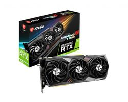 MSI GeForce RTX 3090 GAMING X TRIO 24G / -----MHz / 24GB GDDR6X / 384bit / 1x HDMI+3x DP / 320W (8+8+8)
