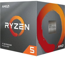 AMD RYZEN 5 3500X @ 3.6GHz / Turbo 4.1GHz / 6C6T / L1 512kB L2 3MB L3 32MB / AM4 / Zen 2 / 65W / Wraith