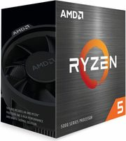 AMD RYZEN 5 5600X @ 3.7GHz / Turbo 4.6GHz / 6C12T / L1 192kB L2 3MB L3 32MB / AM4 / Zen 3 / 65W