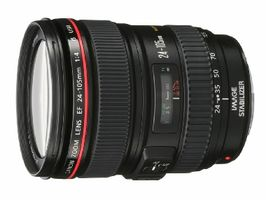 Canon objektiv EF 24-105 mm f4 L IS USM