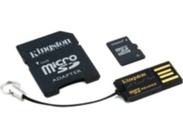 Kingston 16 GB Mobility Kit G2 Class 10 / (microSD+adaptér+čtečka)
