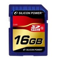 Silicon Power 16 GB / SDHC / Paměťová karta / Class 10