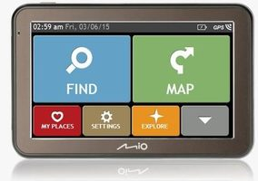 "Mio Spirit 7670 Truck GPS navigace / LCD 5"" / TMC / BT / Full Europe + Lifetime map voucher"