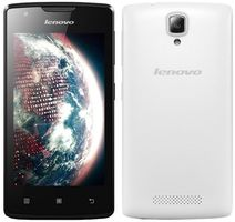 "Lenovo A1000 Dual-SIM / 4.0"" / Quad-Core 1.3GHz / 1GB RAM / 8GB / 5MP / Android 5.0 / Bílý"