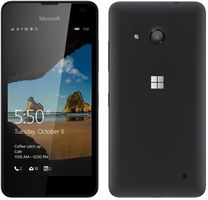 "Microsoft Lumia 550 LTE / CZ distribuce / 4.7"" / 1 GB RAM / 8 GB / 5MP+2MP / Single-SIM / Windows 10 / černá"
