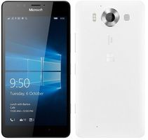 "Microsoft Lumia 950 Dual-SIM / CZ distribuce / 5.2"" / 3 GB RAM / 32 GB / 20MP + 5MP / LTE /  Windows 10 / bílá"
