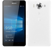 "Microsoft Lumia 950 Single-SIM / CZ distribuce / 5.2"" / 3 GB RAM / 32 GB / 20MP + 5MP / LTE / Windows 10 / bílá"