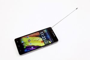 "i-Mobile IQ 5.9 DTV / 5"" / Quad-Core 1.2GHz / 1GB RAM / 8GB ROM / 18MP + 5MP / Dual-SIM / Android 4.4 / modrý"