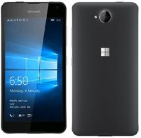 "Microsoft Lumia 650 Dual-SIM / CZ distribuce / 5.0"" / 1 GB RAM / 16 GB / 8MP + 5MP / LTE /  Windows 10 / černý"