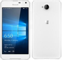 "Microsoft Lumia 650 Dual-SIM / CZ distribuce / 5.0"" / 1 GB RAM / 16 GB / 8MP + 5MP / LTE /  Windows 10 / bílý"