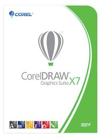 CorelDRAW Graphics Suite X7 / DVD / CZ / PL / BOX