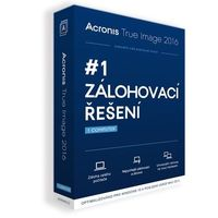 Acronis True Image 2016 CZ / 3 PC  / Win a OS X / BOX