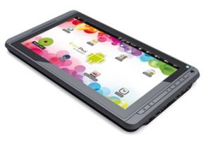 "EasyPad Tablet Junior / 7"" Touch / Rockchip 2918 / 512 MB / 4GB / Wi-Fi / microSD / Android 2.3"