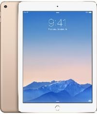 "Apple iPad Air 2 128GB WiFi Cellular Gold / 9.7""/ 2048x1536 / WiFi+LTE / 10h výdrž / 2x kamera / iOS8 / Zlatá"