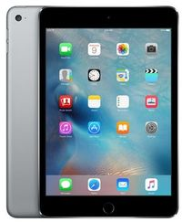 "Apple iPad Mini 4 128GB WiFi Space Gray / 7.9""/ 2048x1536 / Wi-Fi / 10h výdrž / 2x kamera / iOS9 / Šedý"