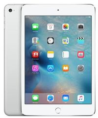 "Apple iPad Mini 4 128GB WiFi + Cellular Silver / 7.9""/ 2048x1536 / Wi-Fi / LTE / 9h výdrž / 2x kamera / iOS9 / Stříbrný"