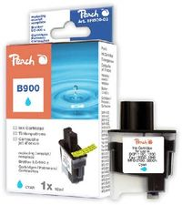 Peach LC-900 alternativní cartridge pro Brother / DCP-110C, DCP-115C / 12 ml / Modrá