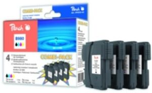 Peach LC-1100XL a LC-980XL alternativní cartridge pro Brother / 1x 17 + 3x 7 ml / MultiPack