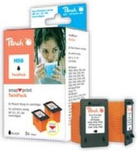 Peach 21XXL/56 alternativní cartridge / Deskjet 3940, 5550 / Twin-Pack / Černý
