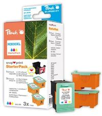 Peach 300XL alternativní cartridge / HP Deskjet D2560 / Starter-Pack 1+3 / 3x14 ml / Barevné