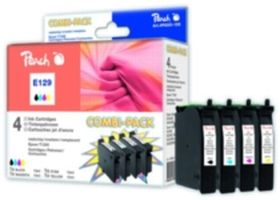 PEACH kompatibilní cartridge Epson T1295 MultiPack, Black, Cyan, Magenta, Yellow, 4x 11,5 ml