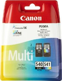 Canon PG-540 / CL-541 originální cartridge / 2x8 ml / Multi pack