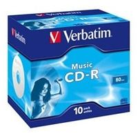Verbatim DVD-R (1-ks)Printable/16x/4.7GB/Jewel