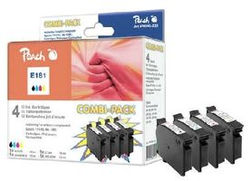 Peach T1816 alternativní cartridge / Epson Expression Home XP-202 / 1x15ml, 3x10ml / Combipack