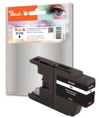 Peach remanufactured LC-1240 alternativní cartridge / Brother MFC-J430W / černá