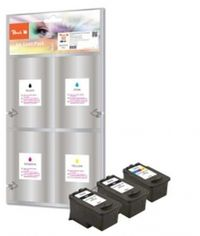Peach remanufctured PG-512 / CL-513 MultiPack Plus alternativní cartridge / Canon Pixma MP240 / multipack plus
